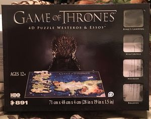 Game of Thrones Puzzle🙀 for Sale in Fremont, CA