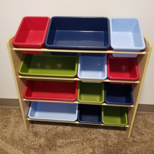 Kids Toy Organizer Storage Rack for Sale in Kent, WA