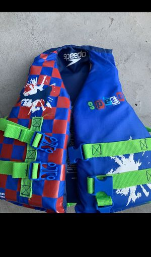 Speedo life jacket for Sale in Washington, DC
