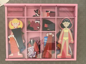 Melissa and Doug Magnetic Dress Up Dolls for Sale in Pflugerville, TX