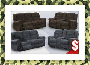 Grey or chocolate recliner free delivery for Sale in Rockville, MD