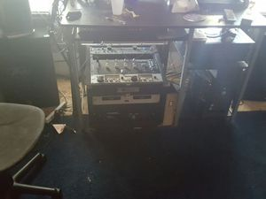 professional dj equipment control over 18 different sources... with computer st up and lighting... mics. Amps.... everything you could want and more for Sale in Cleveland, OH