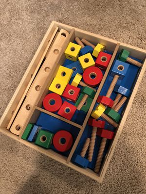 Melissa & Doug construction set for Sale in Ashburn, VA