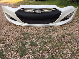 Hyundai Genesis Coupe 2013 2014 2015 2016 front bumper cover with LED lights park lamps side markers for Sale in Dallas, TX