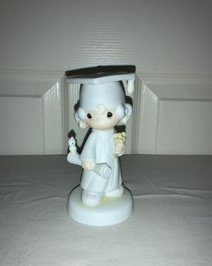 "PRECIOUS MOMENTS 1980 ""The Lord Bless You and Keep You"" Porcelain Figurine for Sale in Beaverton, OR"