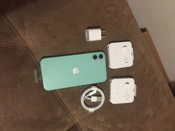 iPhone 11 green 64gb unlocked