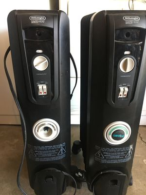 2 dolenghi heater for Sale in San Jose, CA