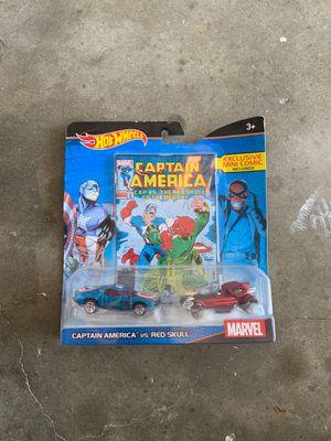 Captain America hot wheels for Sale in La Mirada, CA