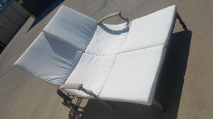 Double pool lounge Chair and wicker chair for Sale in Fresno, CA