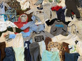 Baby Boy Clothes Pants Jackets Onesie All For 20 3-6m for Sale in Sunnyvale,  CA