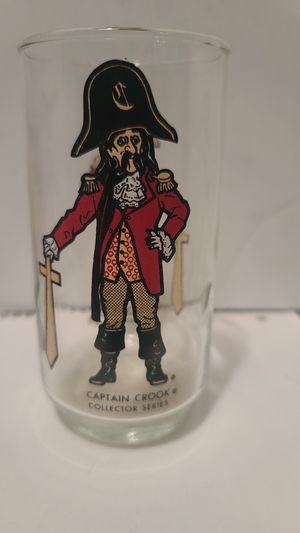 Mc donalds collectable captian Crook glass for Sale in North Las Vegas, NV