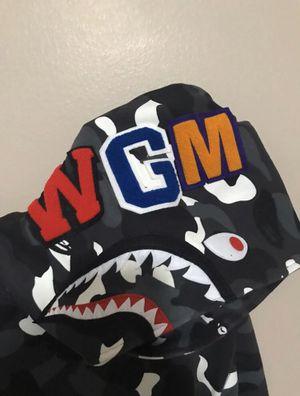 Bape Shark Hoodie (Black/Gray mix) for Sale in Providence, RI