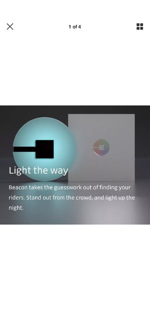 UBER BEACON LIGHT BRAND NEW SEALED for Sale in Wood Dale, IL