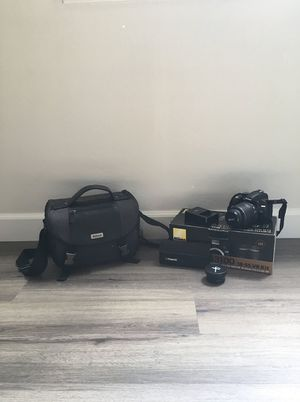 Nikon D3100 with 18-55mm lens and accessories for Sale in Los Gatos, CA