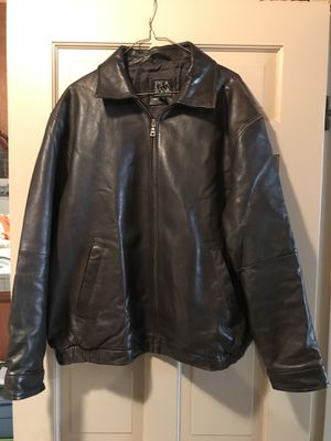 """BRAND NEW """"WILSON LEATHER BOMBER JACKET"""" - XL for Sale in Fairfax, VA"""