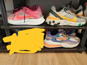 Nike shoes sz 10 $100 each for Sale in Westminster, CO