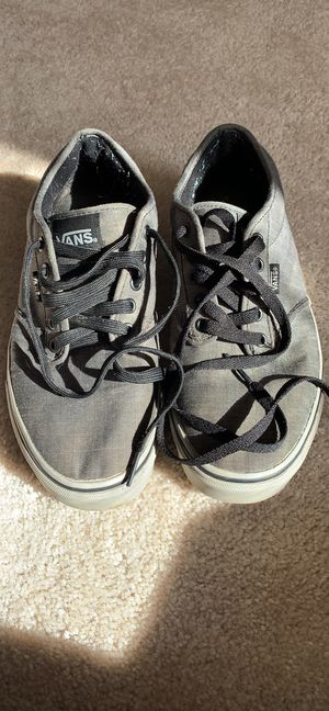 Grey vans skateboard shoes for Sale in Camp Hill, PA