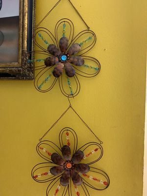 2beautiful hanging decorations for any room $10 for pair for Sale in Lauderhill, FL
