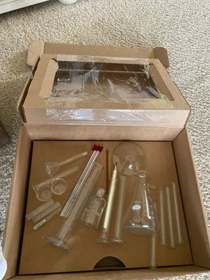 25 Piece Vintage Chemistry Set Glass for Sale in Morro Bay, CA