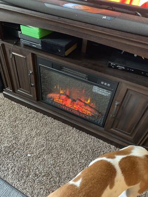 Fireplace TV stand for Sale in Westerville, OH