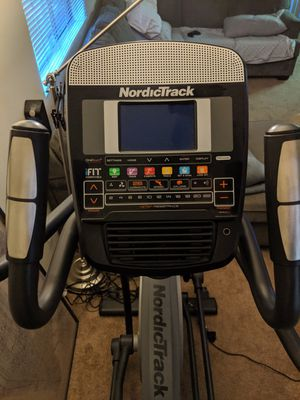 NordicTrack E8.7 Elliptical Front Drive Machine for Sale in Irwindale, CA