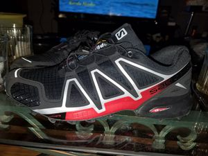 Salomon speed cross 4 shoes hiking for Sale in Chicago, IL