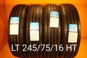 4 New tires LT 245/75/16 HT llantas nuevas for Sale in Chula Vista, CA