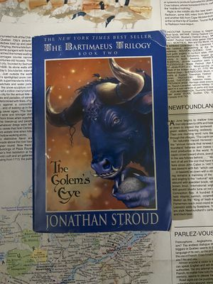 The Golem's Eye by Jonathan Stroud Book Novel for Sale in San Diego, CA