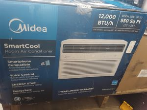 MIDEA MAW12R1BWT Window Air Conditioner 12000 BTU Easycool AC (Cooling, Dehumidifier and Fan Functions for Sale in Dallas, TX