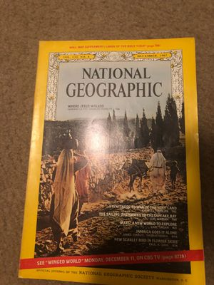 December 1967 National Geographic Magazine (no insert) for Sale in Winston-Salem, NC