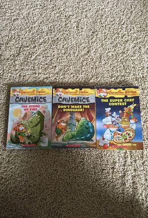 Geronimo Stilton Books (3) for Sale in Apex, NC