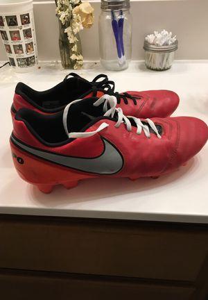 Nike Tiempo Soccer Cleates Size 11.5 for Sale in Wildomar, CA