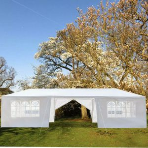 Canopy tent 10'x30' , w/ 8 walls, carpa toldo armable de tubos metal, NEW for Sale in San Diego, CA