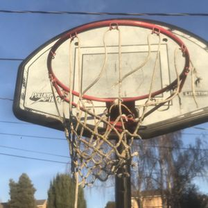 Lifetime Basketball Hoop With NBA Spalding Full Size Basketball for Sale in Hayward, CA