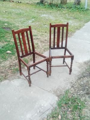 Barley twist chairs for Sale in Beaumont, TX
