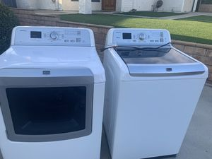 Maytag washer & gas dryer for Sale in Rancho Cucamonga, CA