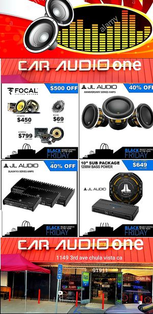 Car audio for Sale in San Diego, CA