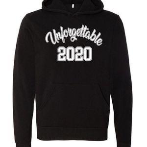 Unisex Hoodie, Unforgettable 2020 Monogram for Sale in Houston, TX