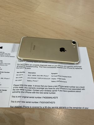 iPhone 7 128 GB unlocked, new for Sale in Arlington, VA