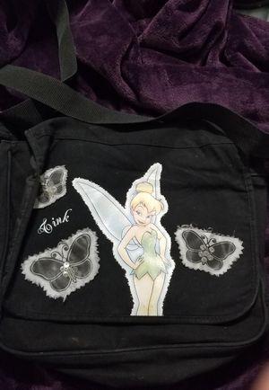 Black Tinkerbell messenger bag for Sale in McKinney, TX