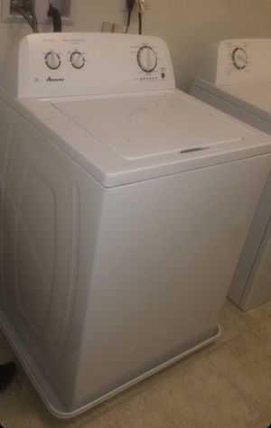 Amana washer and gas dryer a year old for Sale in Ontario, CA