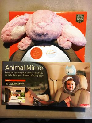 Eddie Bauer Car Seat Animal Mirror, Pink Bunny, NEW! for Sale in Lawndale, CA