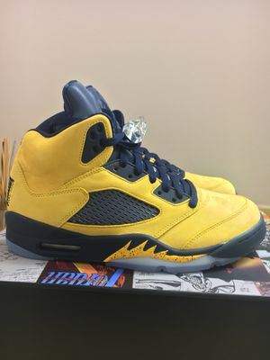 """Air Jordan Retro 5 SP """"Michigan"""" NEW Size 9 for Sale in Rockville, MD"""