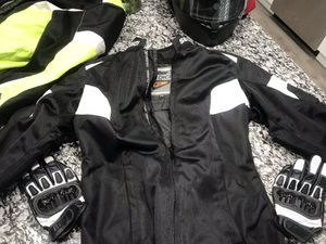 Motorcycle Gear and helmet for Sale in Woonsocket, RI