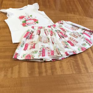 Girl's Two Pieces Cotton Set, size 6 by Mayoral for Sale in Farmington Hills, MI