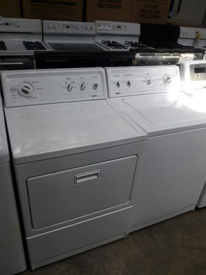 "27""kenmore top load washer and dryer set great working condition for Sale in Fort Washington, MD"
