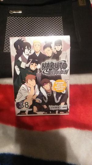 Naruto Shippuden DVD set 38. Brand new/Unopened for Sale in Tucson, AZ