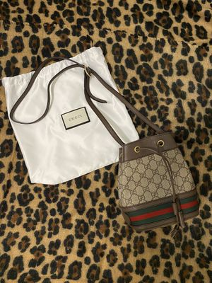 Gucci ophidia mini bucket bag with GG print for Sale in Alexandria, VA