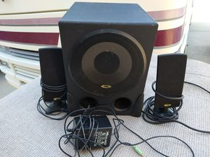 computer speakers powered subwoofer for Sale in Sacramento, CA