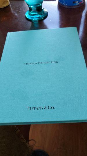 Ring catalogue tiffani & co for Sale in Miami, FL